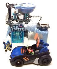 Fisher Price Dc Comics Batman Imaginext Mr Freeze Figuras de juguete, Car & Playset