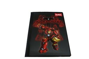 Marvel Avengers HulkBuster Iron man Boy's Graphic Notebook With Stickers NEW