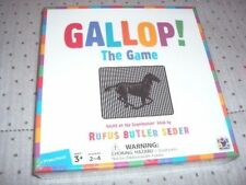 New! Gallop! The Game Bonus Pack free scanimation picture book! in sealed pack