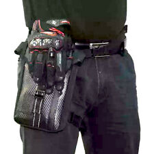 Thigh Pack Waist Belt Polyester Fabric Drop Leg Bag For Motorcycle Outdoor Bike