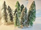 """3X HO or O Scale Pine Trees 11-14"""" - for Train Scenery Diorama Set of 3"""
