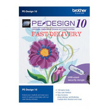 Brother PE Design 10 Embroidery Full Software 🔥 Limited Stock  Instant Delivery