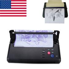 Black Tattoo Transfer Copier Printer Thermal Stencil Paper Maker Fast Speed USA