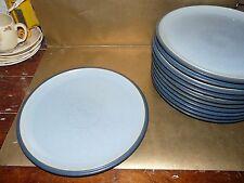 "denby blue jetty dinner plate 10.5"" diameter (several available)"