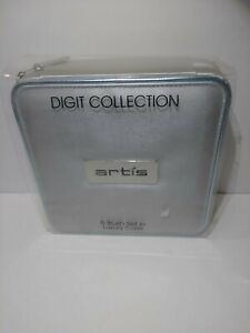 Artis Digit Collection 5 Brush Set In Luxury Case New Open
