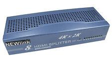 8 Port HDMI SPLITTER V1.4 2160p 8 Way HD Hub Switch Box 4K x 2K 3D HD TV Sky