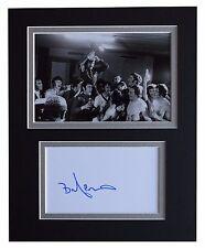 Willie Mathieson Signed Autograph 10x8 photo display Rangers Football AFTAL COA