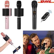 Funkmikrofon Bluetooth Wireless Hand Mikrofone Karaoke Mic für Heimunterhaltung
