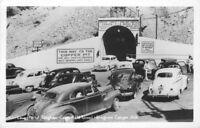 Autos Lower Portal Bingham Copperfield Utah 1940s RPPC Photo Postcard 20-11550