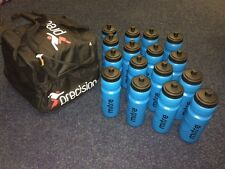Water Bottle Bag with 16 x MITRE LARGE WATER BOTTLES  + TEAM NAME PRINTED ON BAG