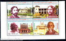 BANGLADESH 2011 MNH Blk 4,  Tagore, Nobel Winner Literature  -  N06