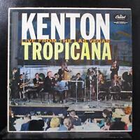 Stan Kenton - Live From The Las Vegas Tropicana LP VG+ T-1460 Mono Vinyl Record