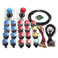 LED Arcade Mame 2 Lettore USB Bundle Kit con 2 joystick e 20 pulsanti