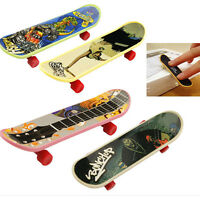 5 Mini Finger Board Fingerskateboard Skateboardmas Kinder Toy Geschenk Ew TQ