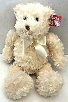 "NEW WITH TAGS GUND 12"" Ivory Creme Plush Bear HUGGINS 15043 Stuffed Animal Toy"