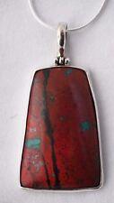 925 Silver Arizona Sunset Crystal Pendant & Chain Ideal Women's Gift Idea