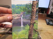 Vintage Old Postcard ALABAMA Fort Ft Payne Desoto Falls Waterfall Indian Caves