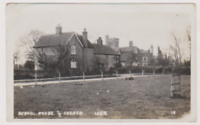 IDEN - SCHOOL HOUSE AND CHURCH - RYE - TENTERDEN - SUSSEX - KENT - POSTCARD - RP