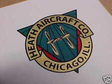 HEATH Aircraft Propeller Decal set Baby Bullet 1932 - 1935?