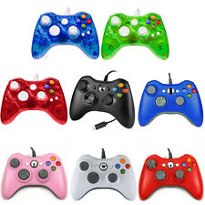 Wired USB Game Controller for Microsoft Xbox 360 Console & Slim/PC Windows7/8/10