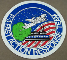 US Navy Decal - Sticker - P-3 Fast Action Response Team