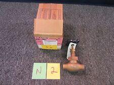 "Nibco Globe Pressure Stem Valve 3/4"" Copper Union Water Oil Gas Steam S-235 300"