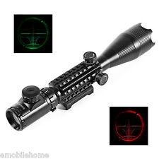16X50 EG 20mm Waterproof Scope Laser for Rifle Hunting Kit Shock proof