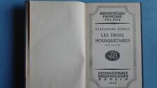 160605-  Alexandre Dumas- Les trois Mousquetaires. Tome premier - 1922