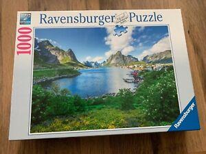Ravensburger 1000 piece jigsaw puzzle featuring a landscape scene