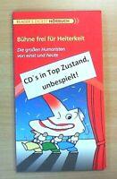 Bühne frei für Heiterkeit; Hörbuch (4 CD`s) Reader´s Digest (Neuwertig)