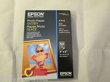 Original Epson Paper S042547 Glossy Photo Paper 200gsm 50 Sheets 10x15cm 4x6''