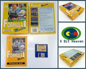 FORMULA 1 MASTERS BY ESP SOFTWARE FOR COMMODORE AMIGA - TESTED & WORKING