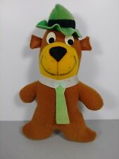 "Mighty Star Yogi Bear Hanna-Barbera Vintage 1980 Plush 9"" Stuffed Animal!!!"