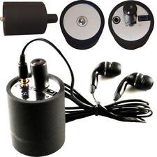 Ear listen Through Wall Device SPY Bugs Eavesdropping Wall Microphone Black