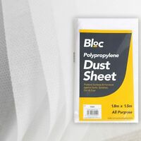 DUST SHEET PAINTING DECORATING DIY FLOOR FURNITURE COVER HEAVY DUTY NON WOVEN