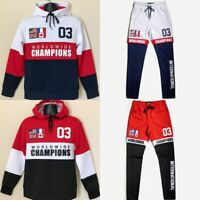BESTSELLER - New! Champions High Quality Copper Rivet Hoodie / Jogger Set
