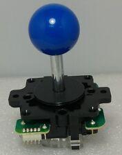 Japan Sanwa Joystick Royal Blue Ball Top Arcade Parts JLF-TP-8Y-MB