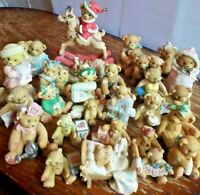 CHERISHED TEDDIES BEAR ORNAMENTS - VARIOUS YEARS / TYPES COLLECTIBLE FIGURINES