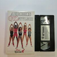 VHS VIDEO Aerobics OZ Style 3