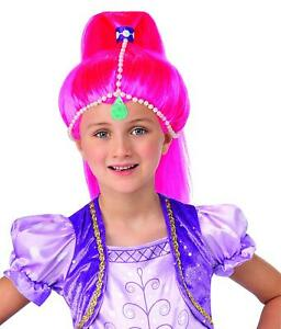 Shimmer Wig Nick Jr Nickelodeon Shine Fancy Dress Halloween Costume Accessory