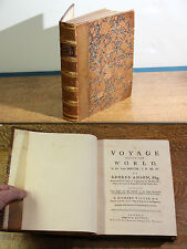 A Voyage Around the World, Anson, George, 1748 - First Edition, First Printing