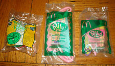 Lot of 3 POLLY POCKET MCDONALD'S Happy Meal Bluebird Totally Toy Doll #3 #4 Lila