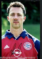 Thomas Linke Super Großfoto 20x30 cm Bayern München Orig.Sign.+21
