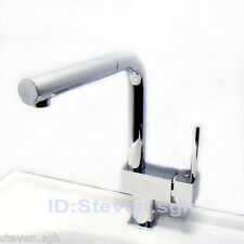 Modern Chrome Pull-out Kitchen Sink Faucet with Filter Spout Bar faucet 0477