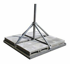 """Rohn Frm150 Non-Penetrating Roof Mount with 1.50"""" x 30"""" Mast - Satellite Wifi"""