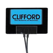 Clifford Alarma del Coche G5 azul intermitente 12V voltios Ventana Pegatina Calcomanía
