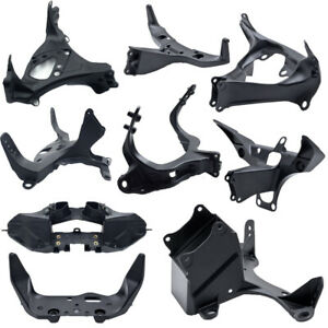 Front Upper Cowling Fairing Stay Headlight Bracket fit For Yamaha YZF-R1 R6 R6S