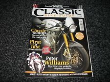 CLASSIC BIKE GUIDE May 2010 Norton 961 Commando/Peter Williams/Salt Streamliner