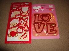 Vintage Valentines Cookie Cutters Amscan & Cupids Magic New - Love - Cupid +