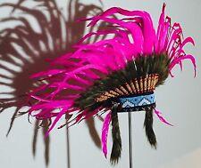 Exklusive Federhaube Indianer Kopfschmuck  - Warbonnet Festival Karneval Kostüm